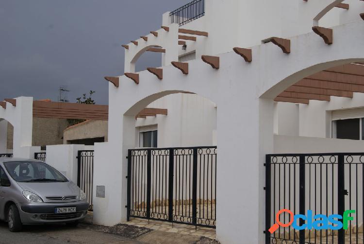 Casa cerca de mojacar en almeria, 140 m. de superficie, 2 plantas terrza y jardin privado