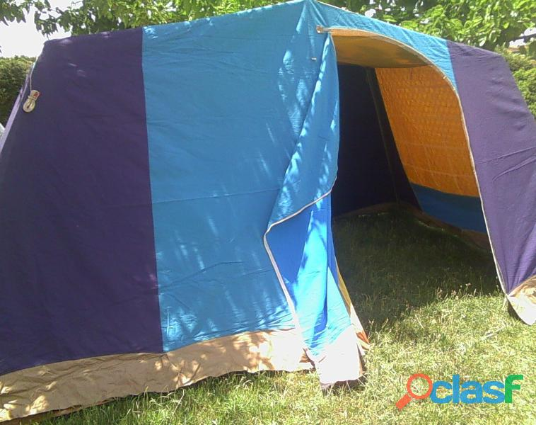 Tienda de campaña hca 4 plazas más 2 sacos de dormir. 7