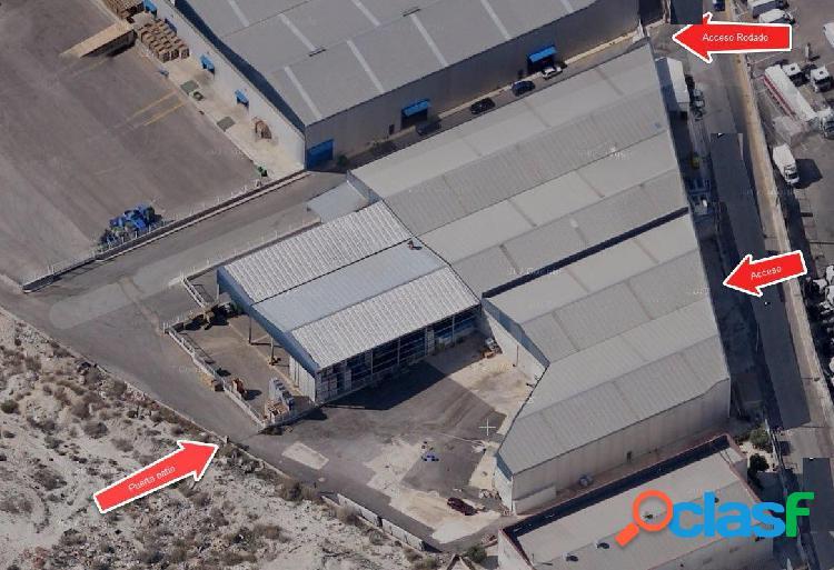 ++venta nave industrial en polígono industrial la serreta++