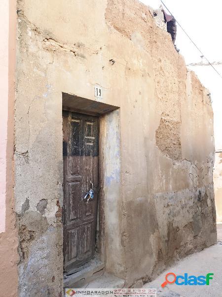 Casa en ruinas en tarazona