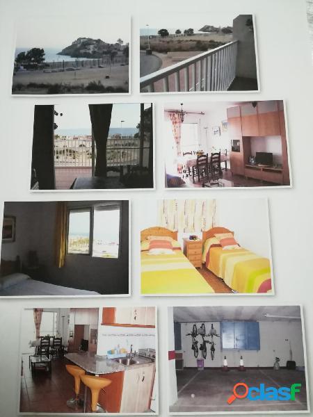 Beautiful apartment in bolnuevo guaranteed sea views
