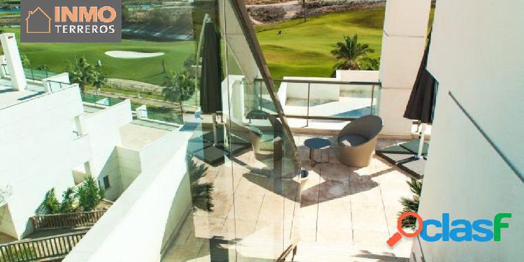 Preciosos apartamentos de 2 dormitorios y 3 baños en mundo aguilón, golf resort