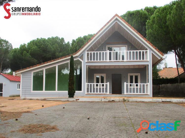 Se vende chalet en El Montico, Tordesillas - VALLADOLID 3 dormitorios - 2 Baños. 180.000€