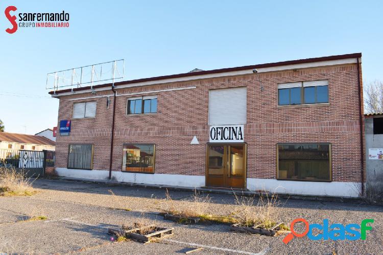 Se vende LOCAL+NAVE en Mojados - VALLADOLID. 6.215 m2 - 1.382.500€