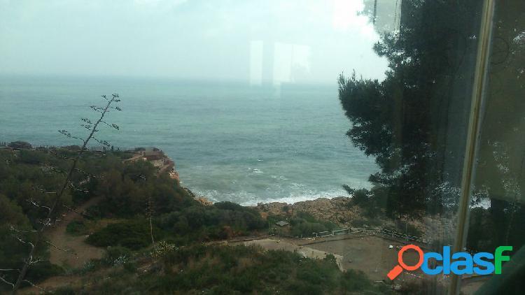 Apartamento con espectaculares vistas al mar en cap salou. costa dorada