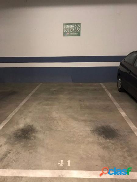 Plazas de garaje zona residencial el pseo