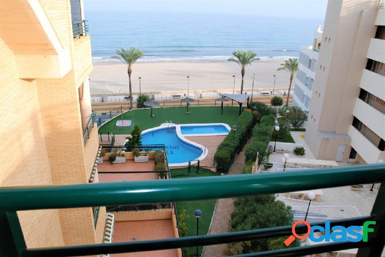 Maravilloso apartamento 1º linea playa muchavista, el campello