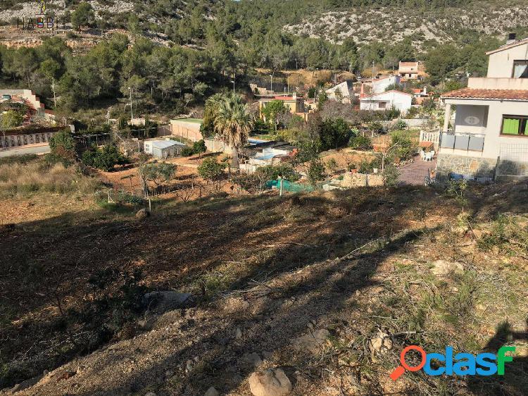 Terreno urbano en venta en sitges, zona mas alba. con proyecto y licencia de obra.