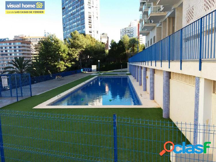Apartamento de dos dormitorios,baño y aseo, piscina.............. en rincon de loix