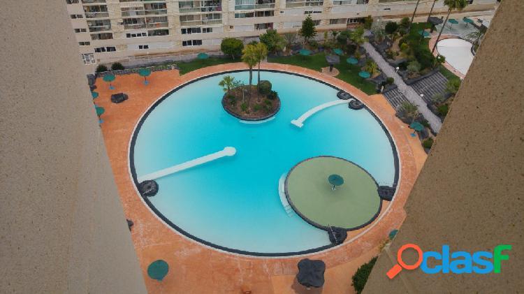 Apartamento de dos dormitorios, dos baños, piscina en rincon de loix