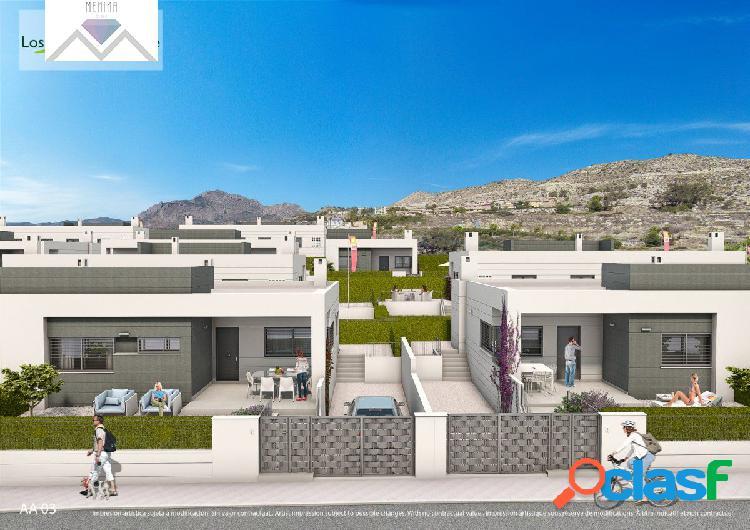Nueva promocion viviendas unifamiliares muy cerca de alicante y san juan playa