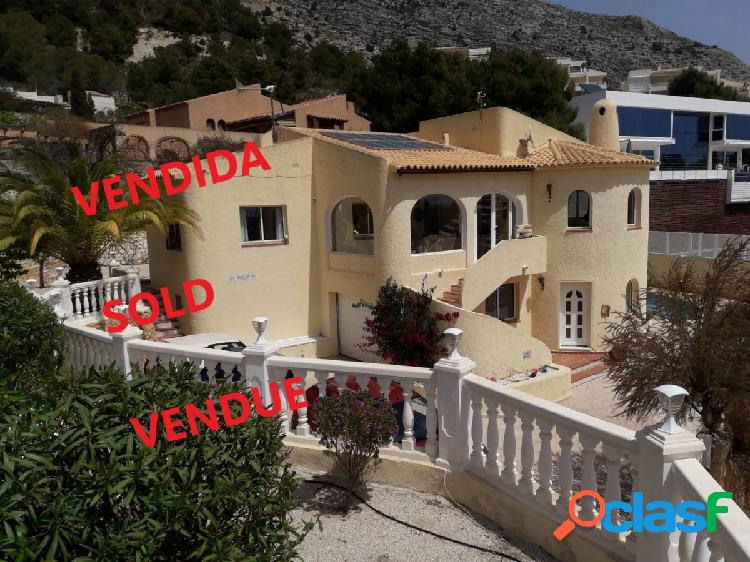 Villa mediterranea en perfecto estado a precio muy ventajoso