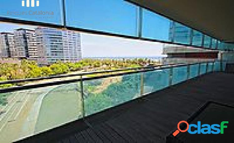 Espectacular piso en diagonal mar, vistas al mar+pk+piscina+terraza grande!!!