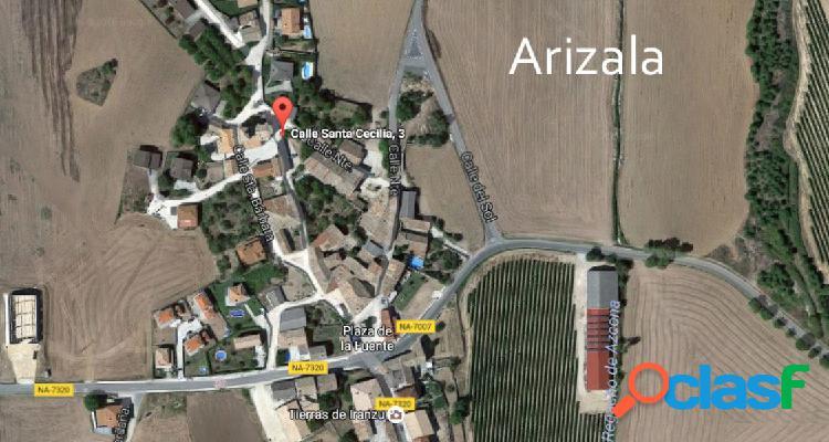 Solar urbano en el centro del pueblo de arizala
