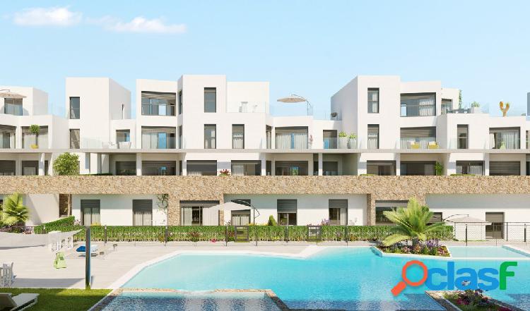 Apartamentos de lujo con amplias terrazas