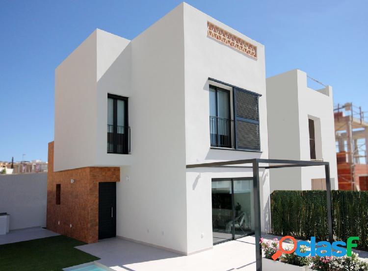 Villas independientes con piscina opcional