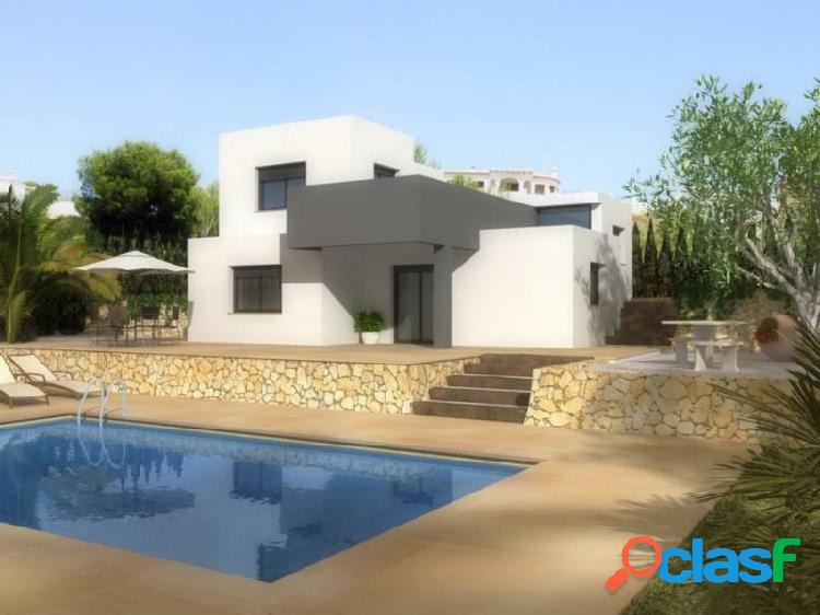 Chalet estilo moderno de nueva construcción en pedreguer (costa blanca)