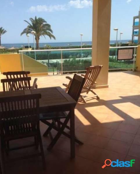 Fantástico apartamento frente al mar. denia. costa blanca