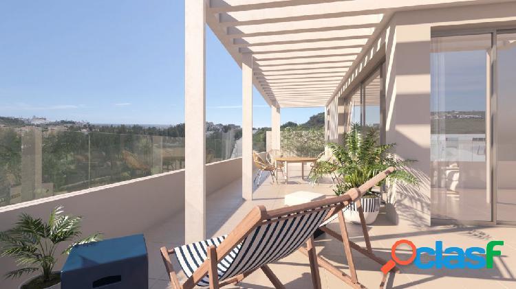 Ático duplex en construcción de 3 dormitorios y dos terrazas con vistas panorámicas en La Cala.