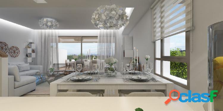 Casas adosadas de nueva construcción en venta en La Cala Golf Resort en Mijas con Solárium y vistas