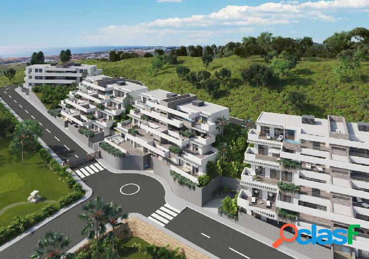 Modernos apartamentos de lujo en venta sobre plano en La Cala de Mijas