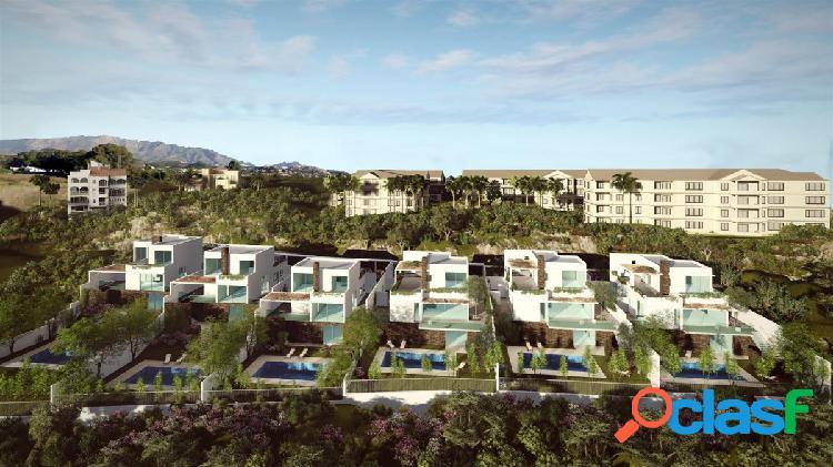 Villas de lujo con estilo contemporáneo en construcción en La Cala Hills
