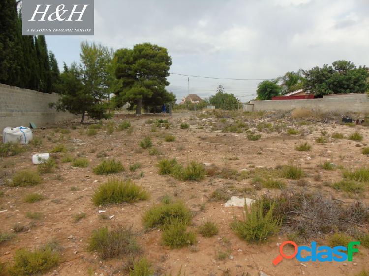 Se vende terreno urbano de 2000 m2 en Betera. / H H Asesores, Inmobiliaria en Burjassot/