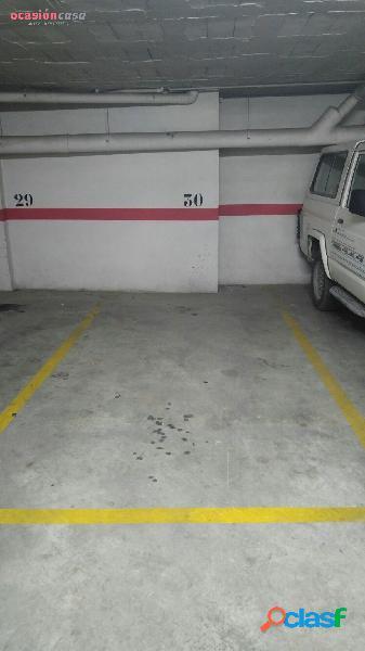 Plaza de parking con buenísima ubicación