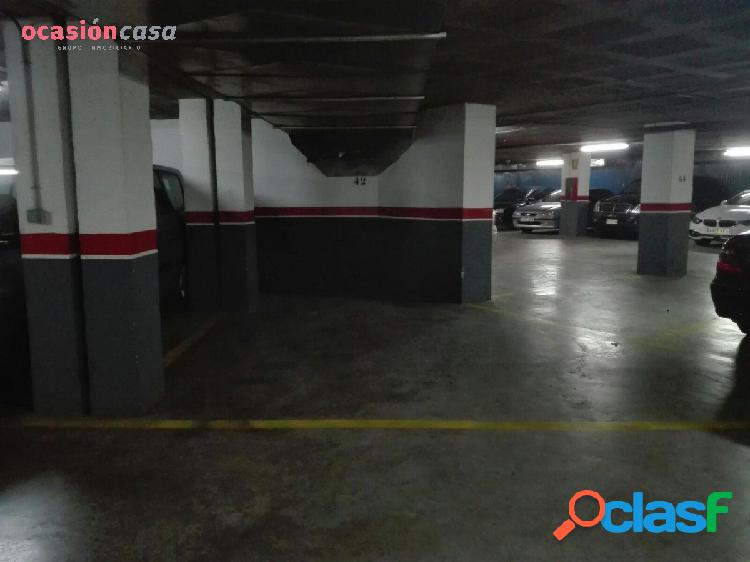 Plazas de parking en el centro