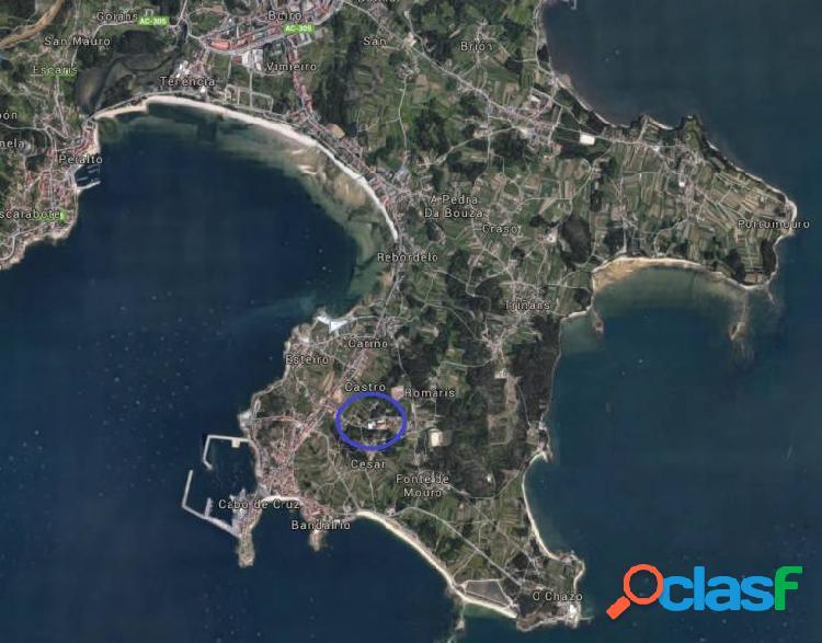 Terreno urbanizable. estupenda zona cerca de la playa. vistas al mar