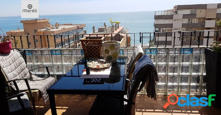 Duplex en planta última con vistas al mar, fuengirola