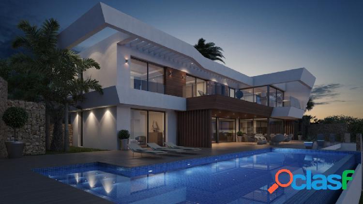 Villa moderna en venta en moraira