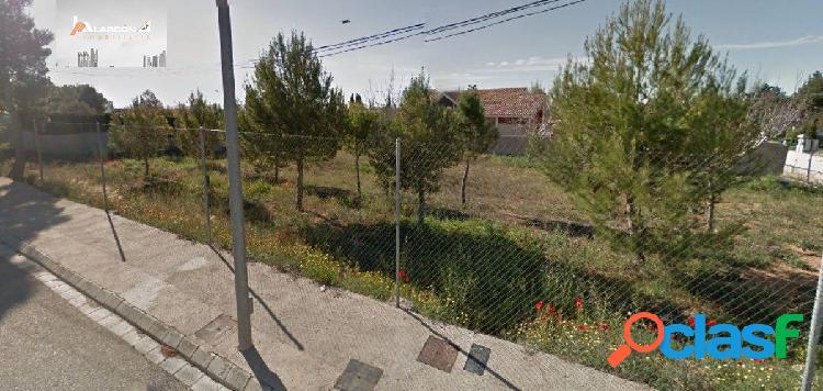 Se vende terreno urbano (urbanizacion huerta de monroy)