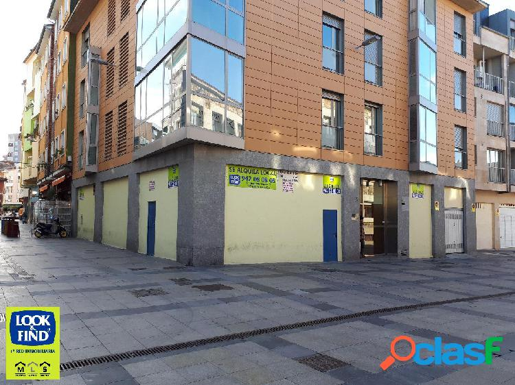 Local comercial en alquiler en torrelavega con inmobiliaria look and find torrelavega