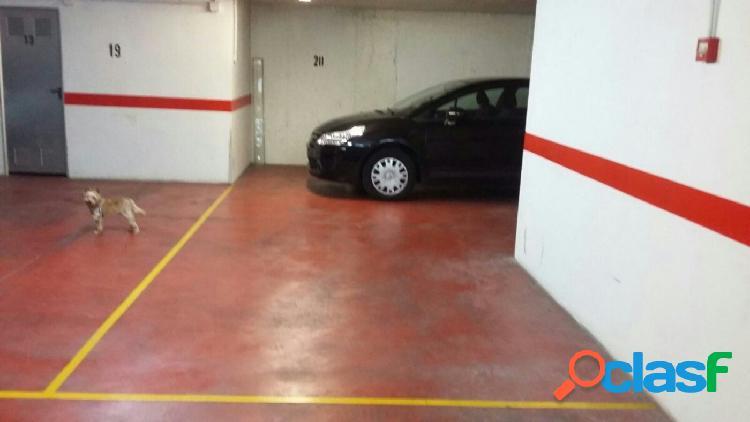 Plaza garaje y 2 trastero