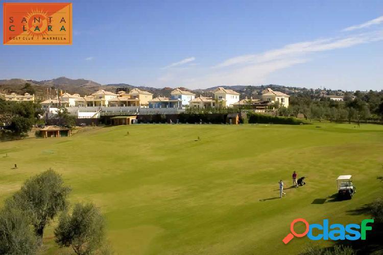 Chalet adosado primera linea de golf !!!