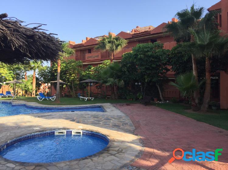 Zona reserva de marbella, bonito piso de 2 habitaciones cerca playa y marina de cabo pino
