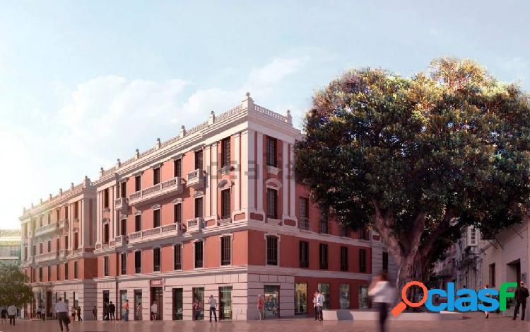 Apartamenos nuevos en el casco antiguo de málaga, ¡quedan 8 apartamentos!