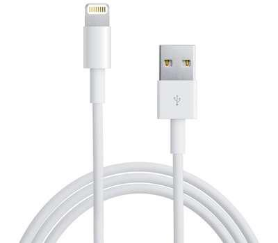 Cable de datos apple lightning 8pin usb iphone, ipad, ipod