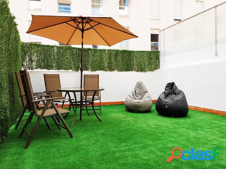 Aquí tienes la terraza ideal para las noches de verano
