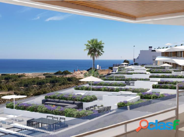 Precioso apartamento con vistas al mar en los arenales del sol, elche