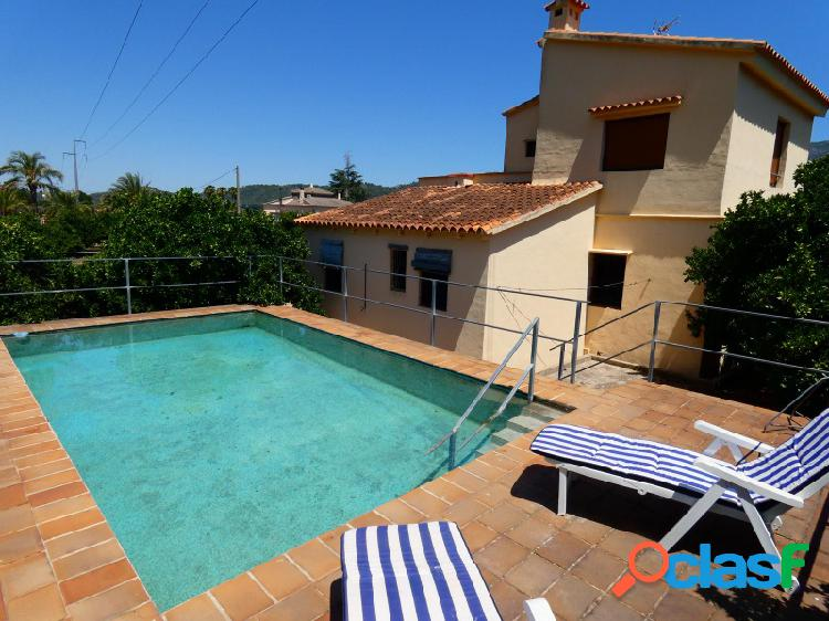 Sin ninguna comisión!! chalet con piscina y bonitas vistas en la barraca de aguas vivas