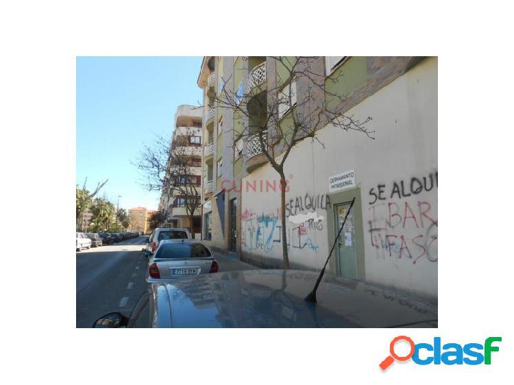 Local comercial de 190 m2, con una amplia fachada y situado en una de las mejores zonas de cáceres.
