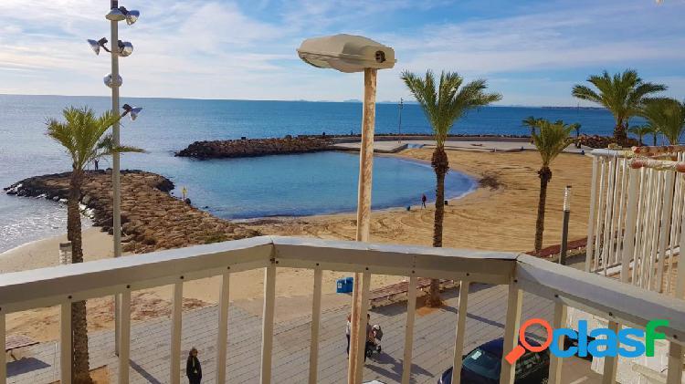 Precioso apartamento en primera linea del playa del cura, torrevieja
