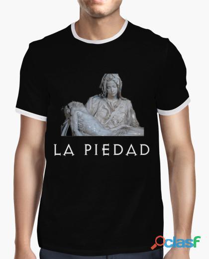 Camiseta hombre la piedad con contrastre