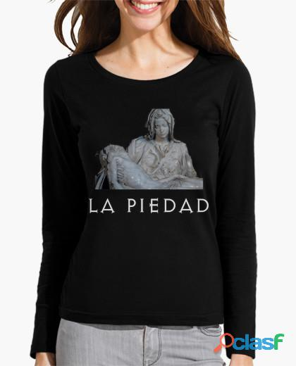 Camiseta mujer manga larga la piedad