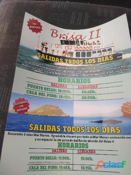 Excursiones maritimas desde la manga