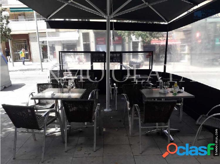 Traspaso bar c2 mixta con terraza en congrés