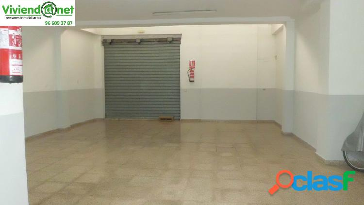 Amplio local comercial plaza madrid zona de mucho paso
