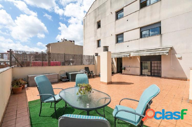Piso con espectacular terraza de 75 m2
